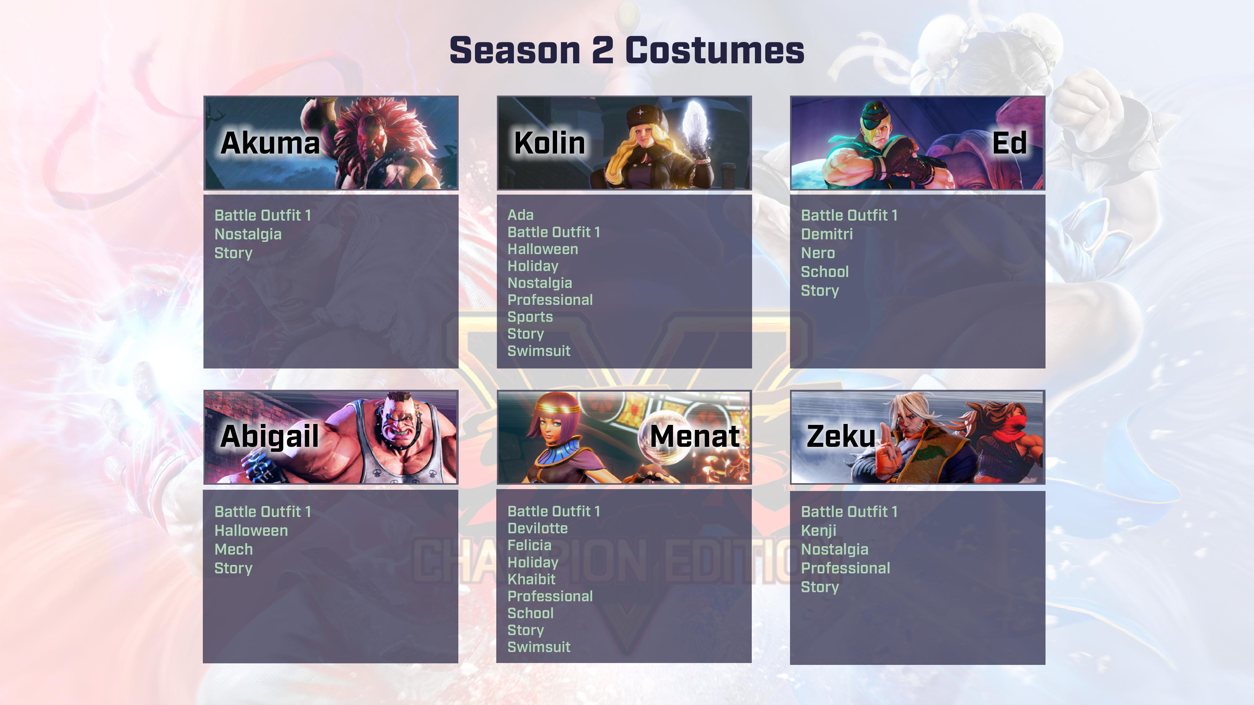 Street Fighter 5: Champion Edition contents 4 out of 9 image gallery