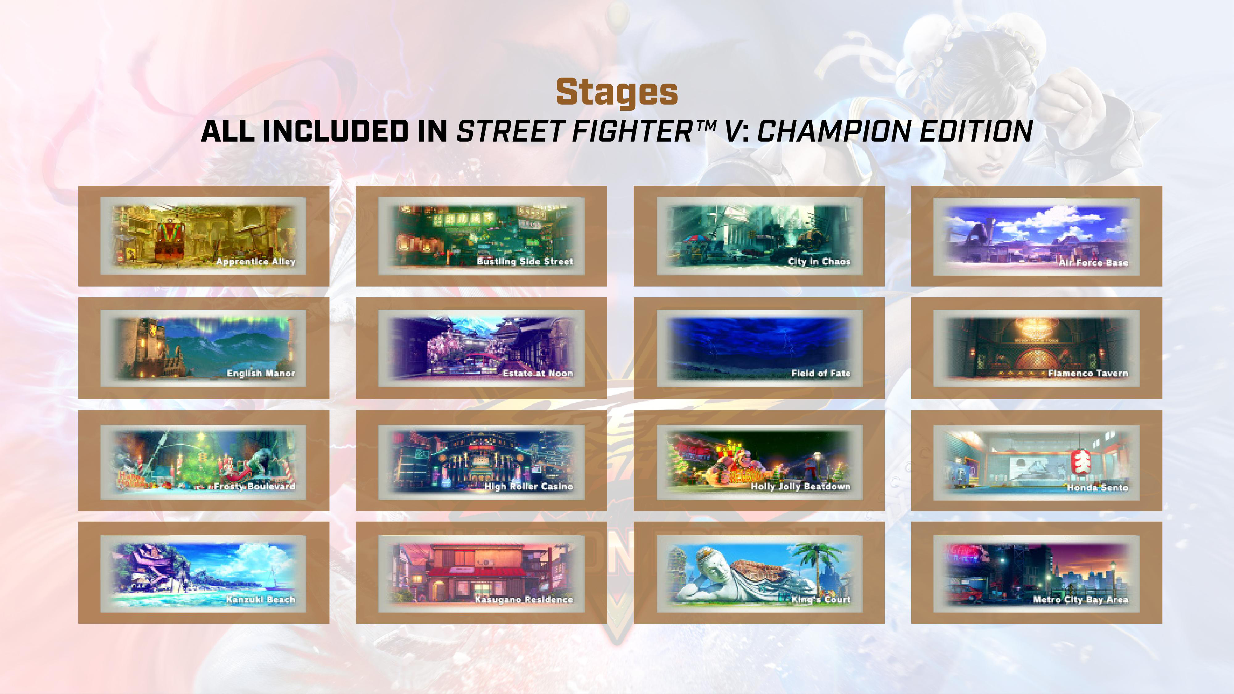Street Fighter 5: Champion Edition contents 7 out of 9 image gallery