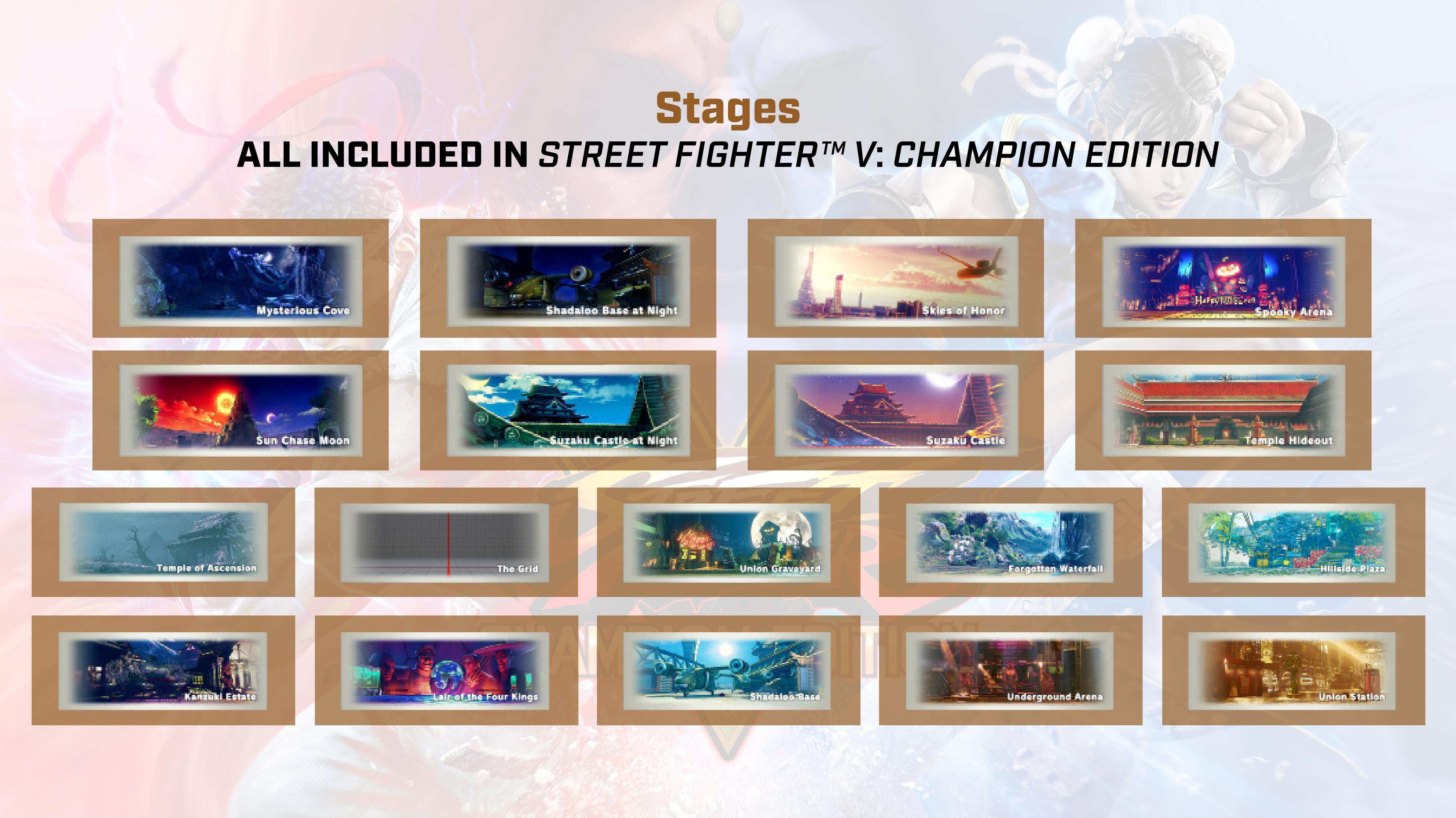 Street Fighter 5: Champion Edition contents 8 out of 9 image gallery