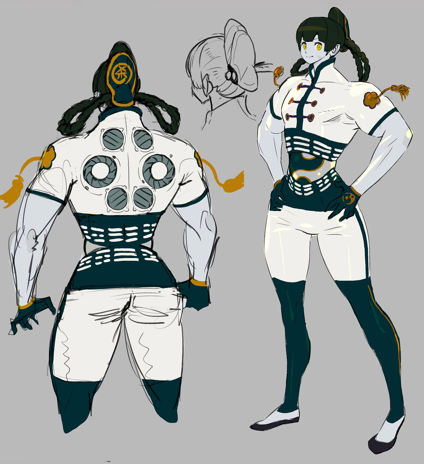 Street Fighter 5: Champion Edition Seth rejected designs 2 out of 7 image gallery