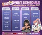 Smash Summit 9 Event Schedule  out of 1 image gallery