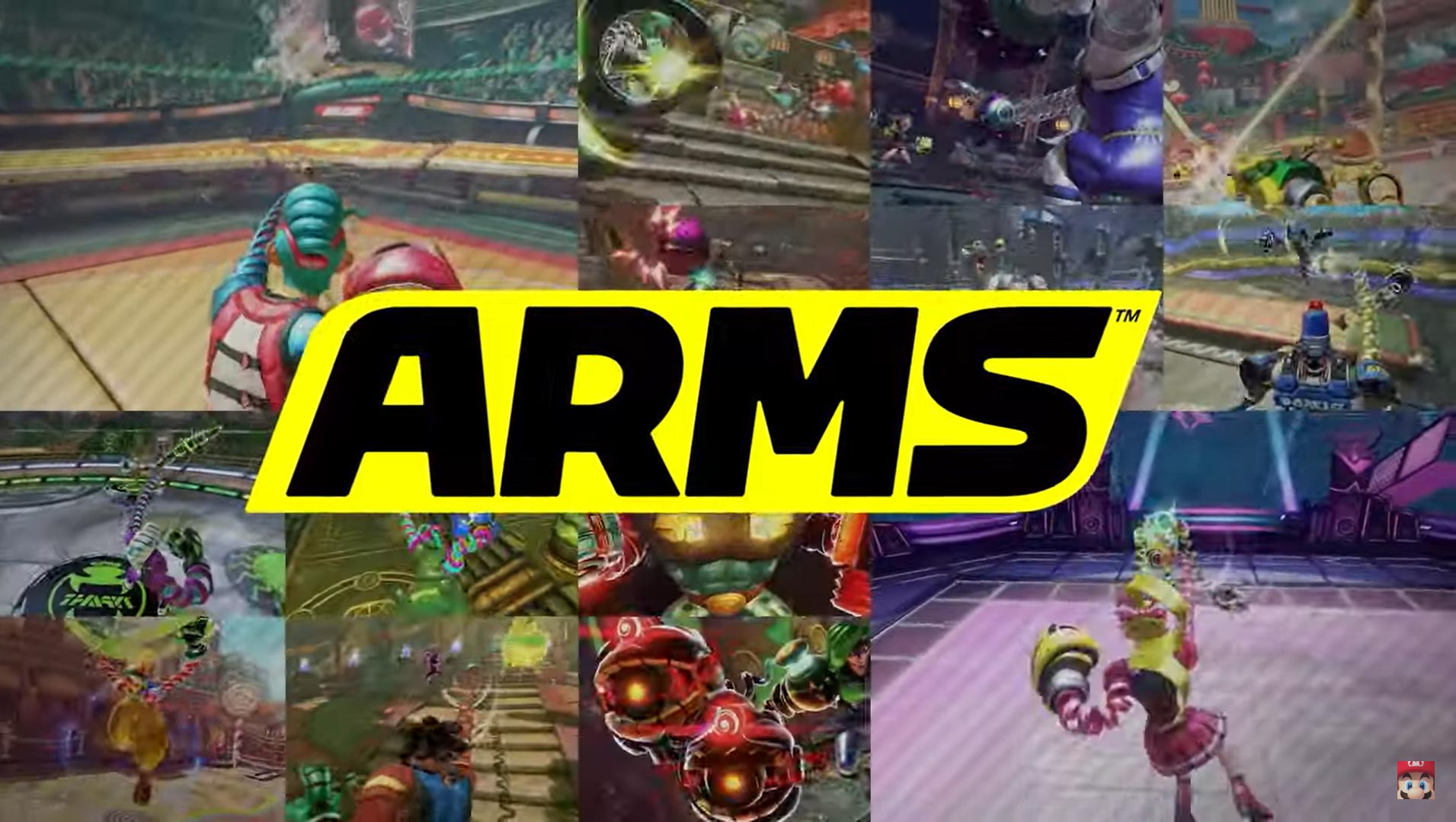 Super Smash Bros. Arms tease 1 out of 3 image gallery