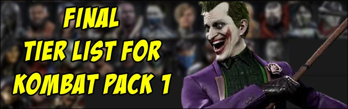 True Under Dawg Gaming Reveals His Final Kombat Pack 1 Mortal