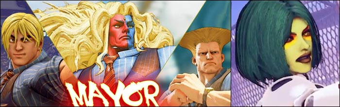 Street Fighter 5 Champion Edition Pc Mods Make Gill Ken And Guile Into The Mayor And Add Marvel Vs Capcom