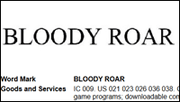 Bloody Roar trademark image #1