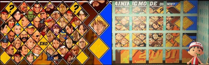 The Capcom Vs Snk 2 Character Select Screen Recreated In Animal
