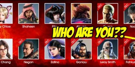 Tekken 7 S Website Adds Entry For A New 50th Character As A Mysterious Silhouette
