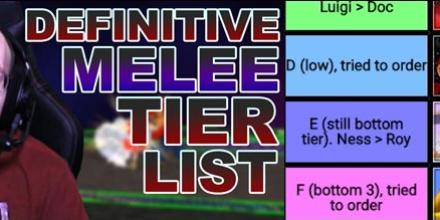 Mew2king Releases His Final Super Smash Bros Melee Tier List