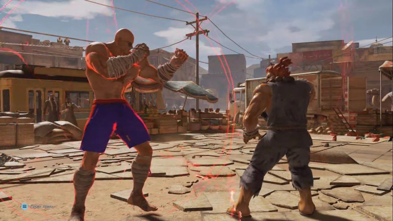 Tohle není Street Fighter 6, ale Tekken 7 mod