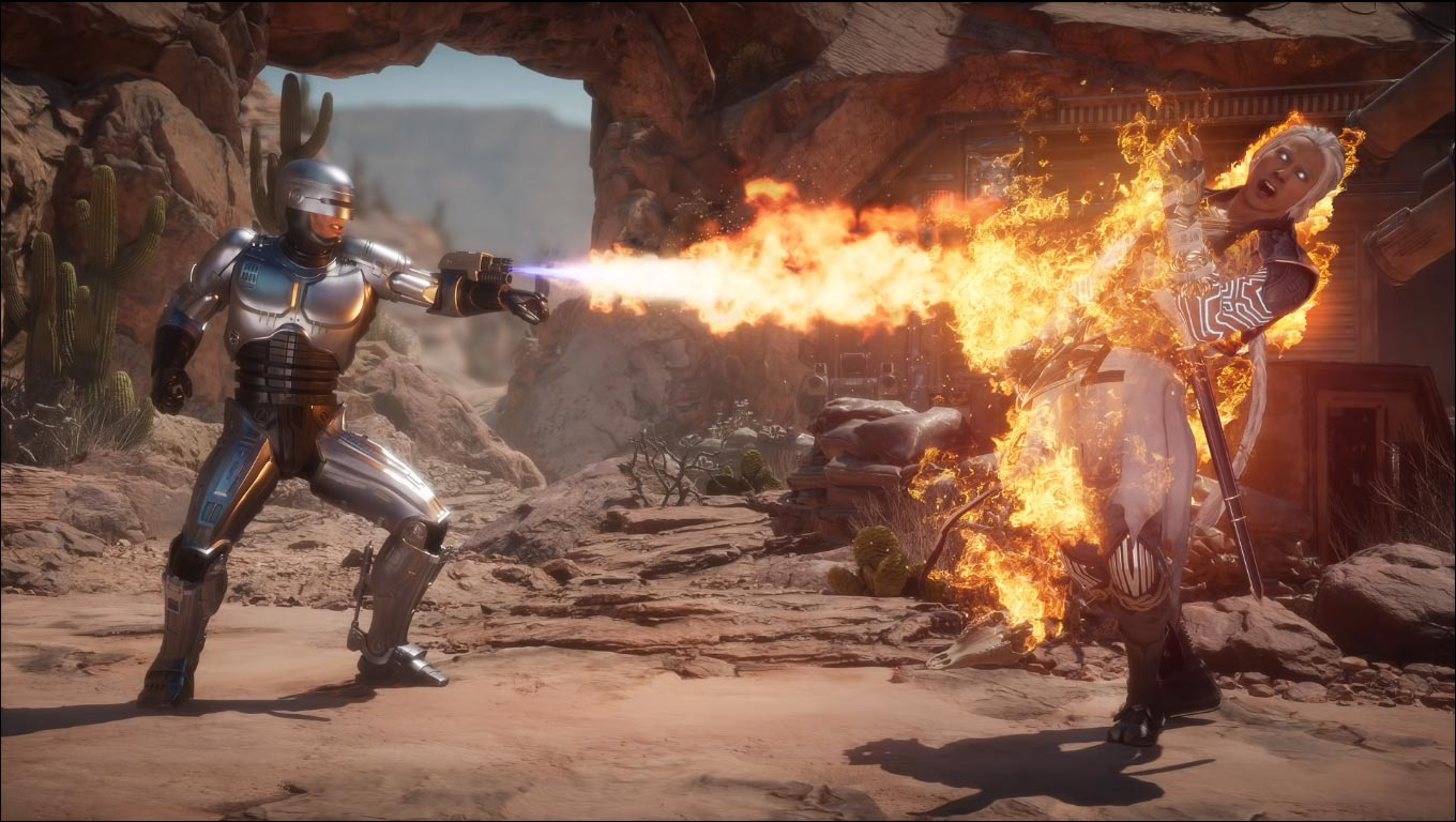 RoboCop in Mortal Kombat 11 1 out of 3 image gallery