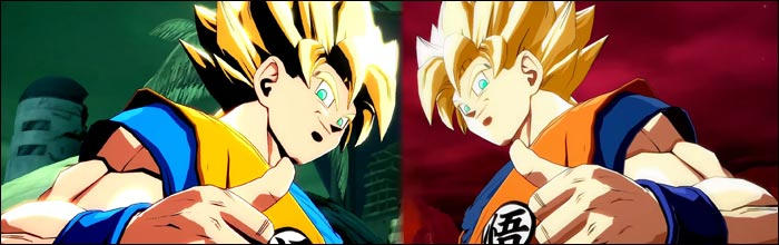 Goku S New Manga Color Variations Completely Change The Saiyan S Shading With Really Cool Results In Dragon Ball Fighterz Releasing May 19