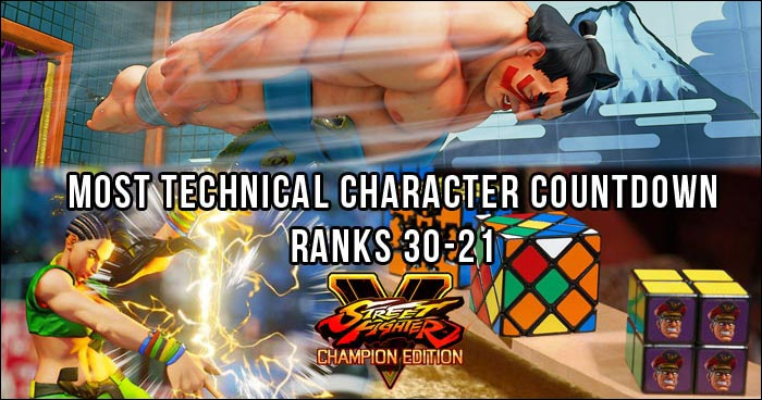 Who Are Street Fighter 5 S Hardest And Easiest Characters To Play