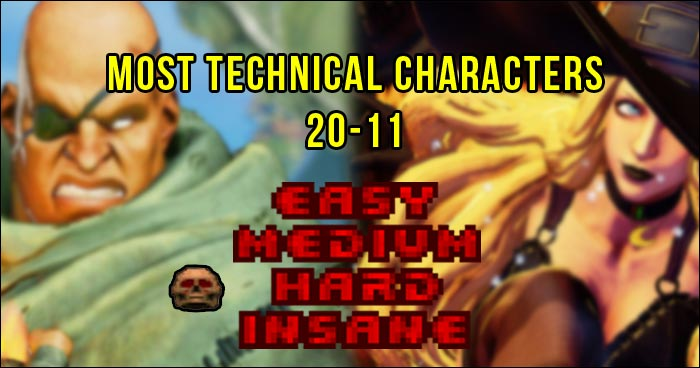 These Aren T Quite The Hardest Street Fighter 5 Characters To