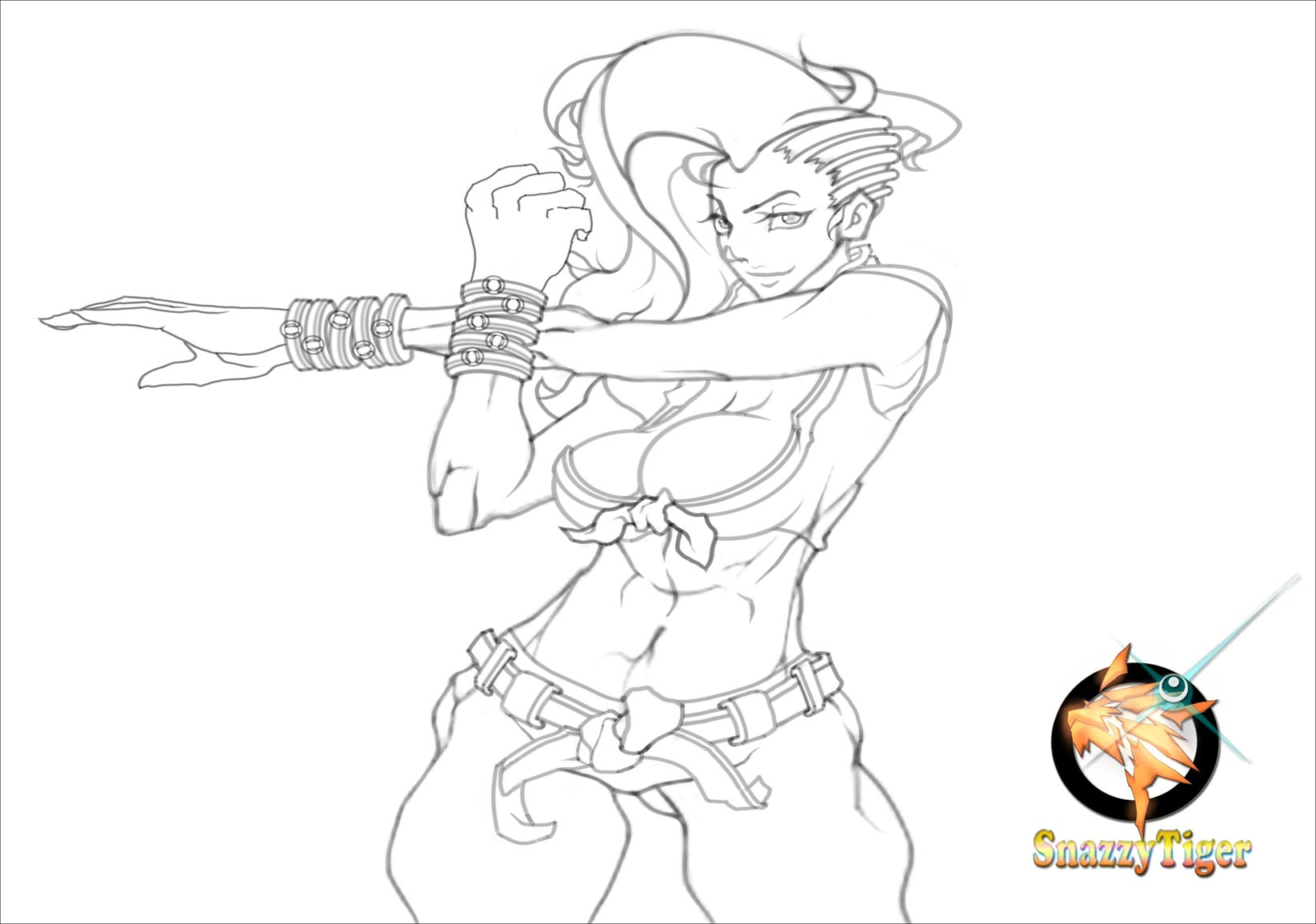 Lamar Price's fighting game sketches 2 out of 7 image gallery