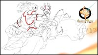 Lamar Price's fighting game sketches  out of 7 image gallery