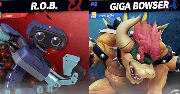 Super Smash Bros Ultimate Hacker Pulls Out Giga Bowser In Online Set But That S Not Enough To Save Him From Getting Bodied By A Pro Player