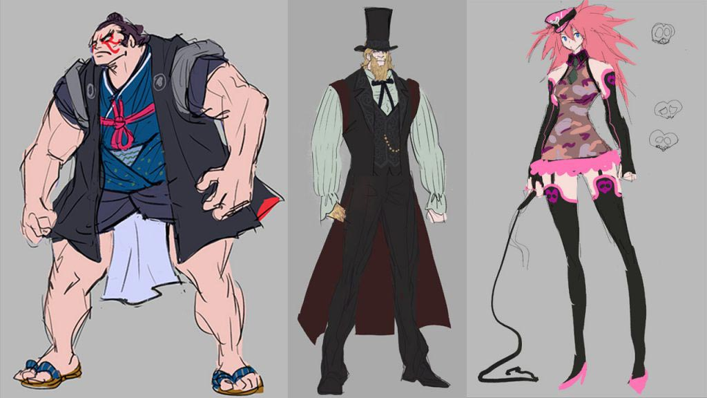 Street Fighter 5: Champion Edition sample sketches from the devs 1 out of 2 image gallery