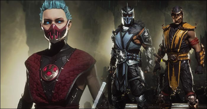 mortal kombat 11 sub zero and scorpion