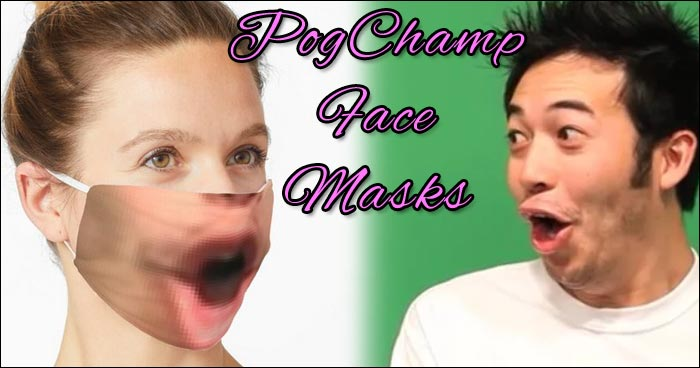 Someone Made A Pogchamp Face Mask