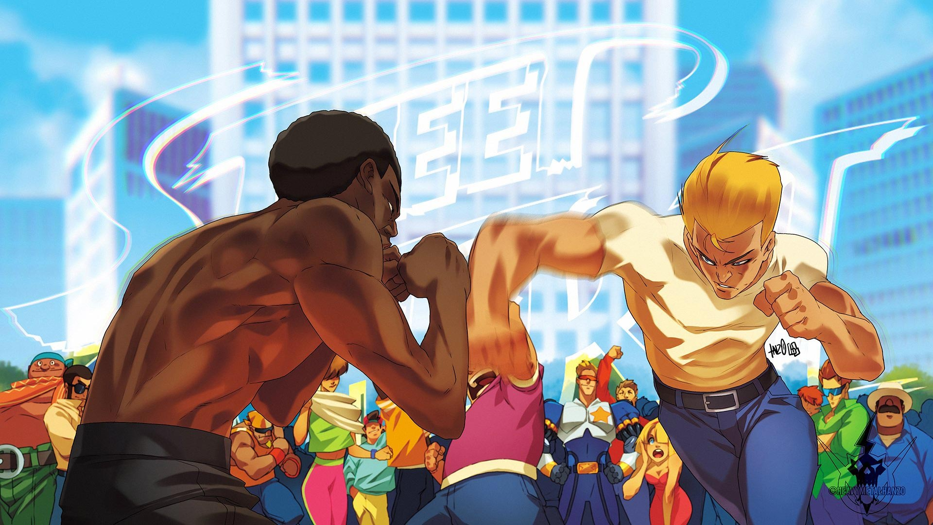 HeavyMetalHanzo's Street Fighter 2 artwork 1 out of 1 image gallery