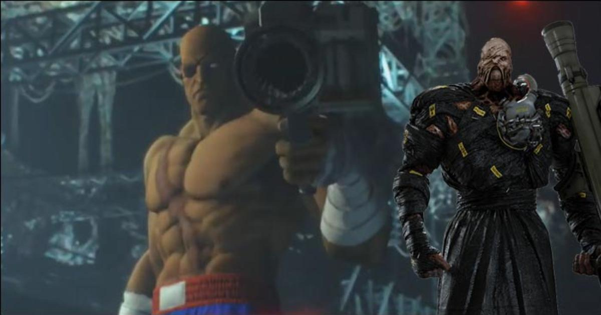 Sagat As Nemesis In Resident Evil 3 Is The Oddly Perfect Mod We