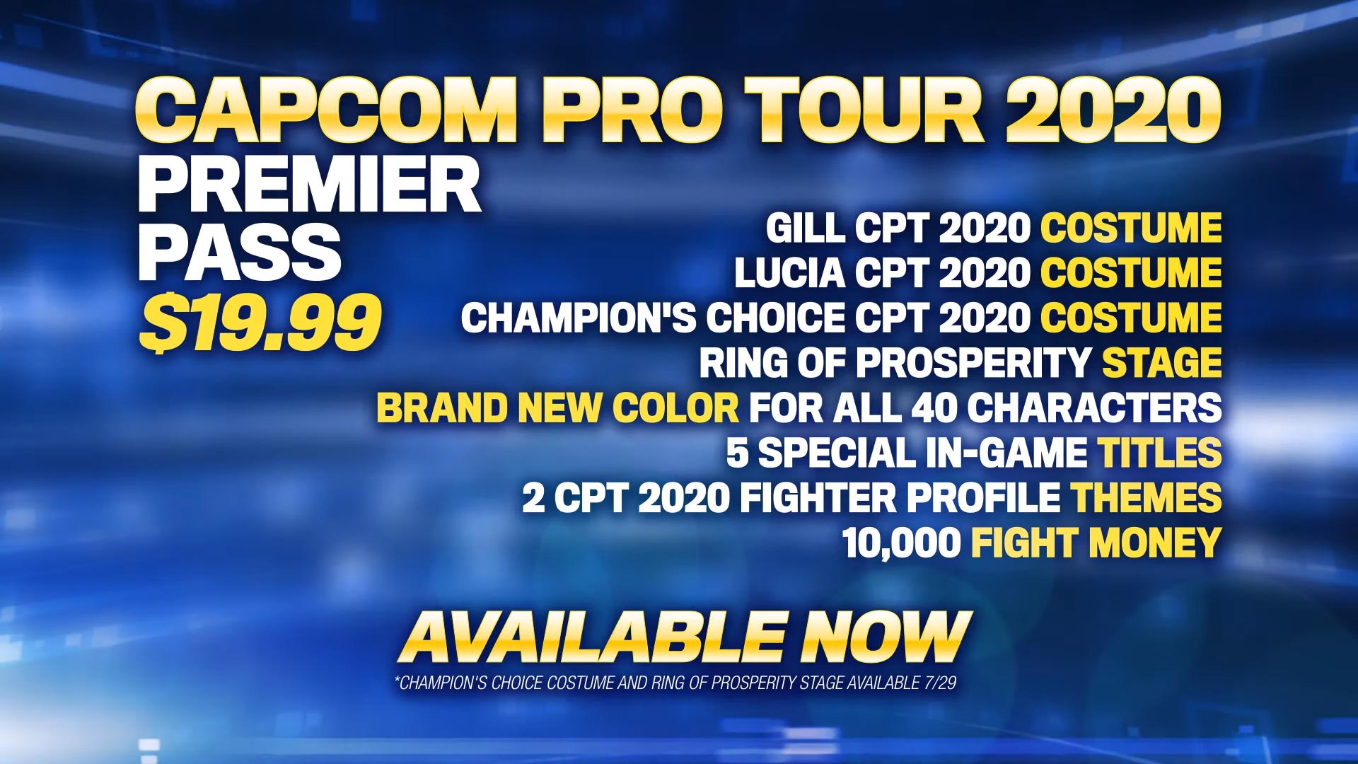 Street Fighter 5: Champion Edition 2020 Capcom Pro Tour DLC 5 out of 5 image gallery