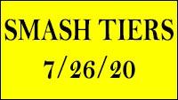 Smash Ultimate July tiers image #1