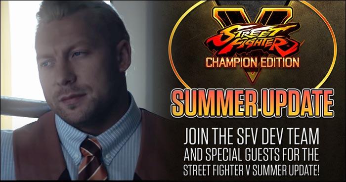 Kenny Omega Returns To Help Make Street Fighter 5 Champion