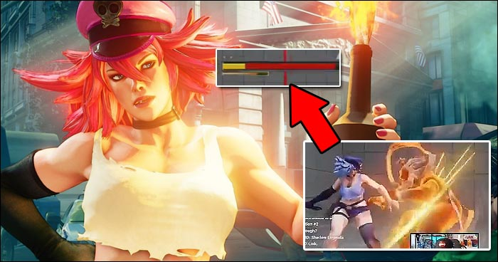 Poison Rips Akuma S Life Bar Apart With Two Meters And V Trigger 1