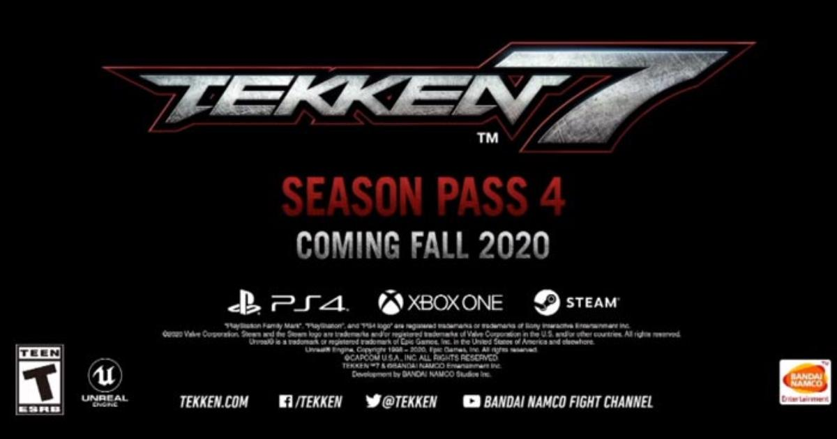 Season 4 Announced For Tekken 7 New Moves For All Characters And Online Improvements En Route