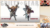 Guilty Gear Strive Leo Whitefang and Nagoriyuki  out of 7 image gallery