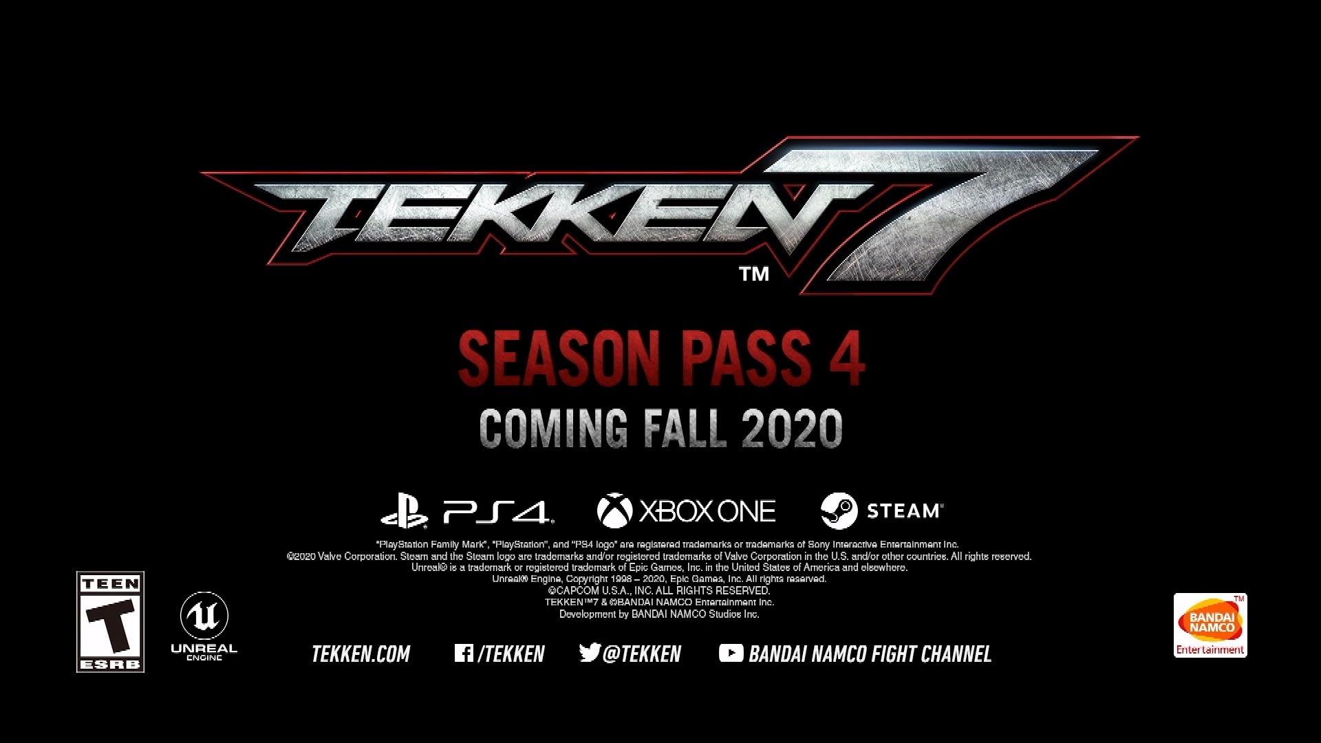 Tekken 7 se dočká 4. sezóny