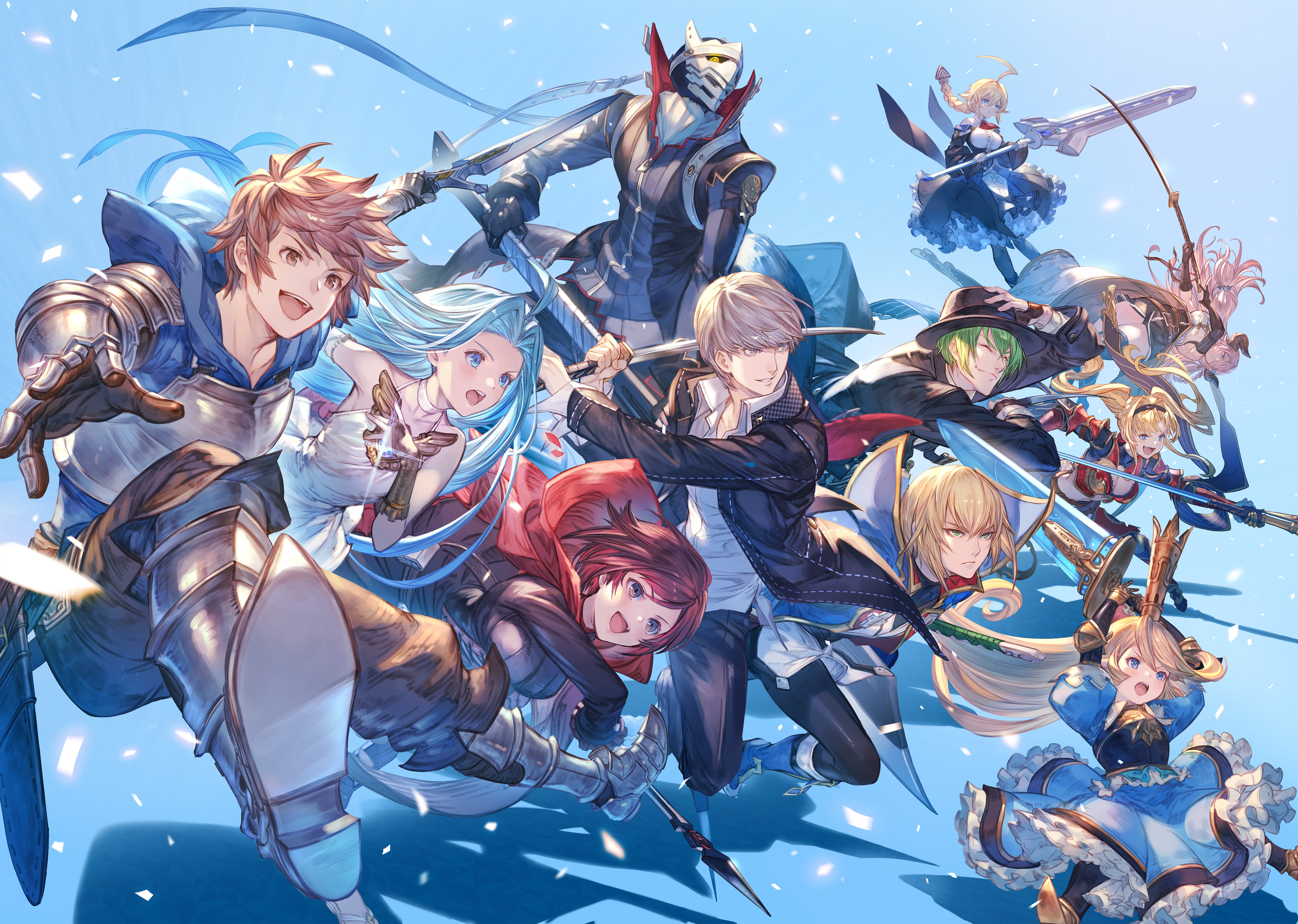 Granblue x BBTAG artwork 1 out of 2 image gallery