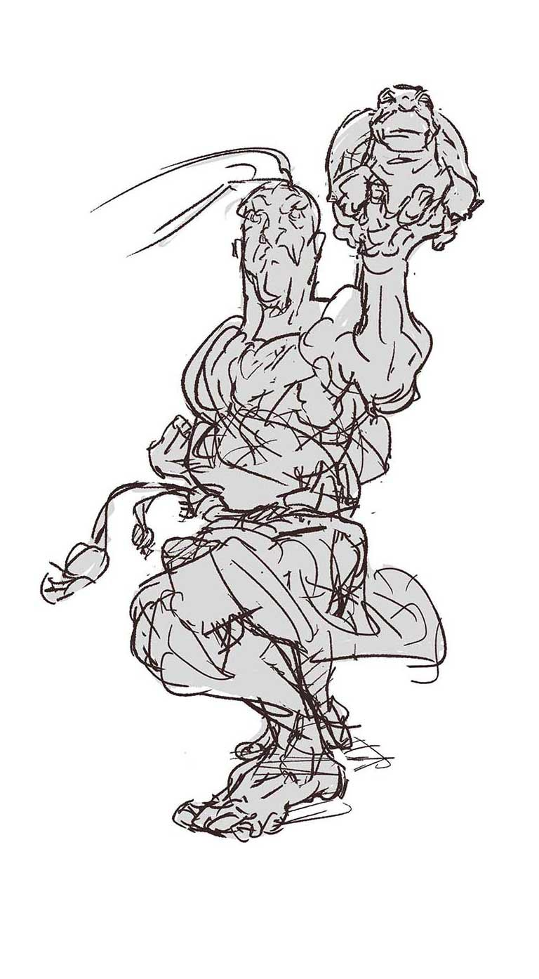 New Character Rough Sketches 2 out of 8 image gallery