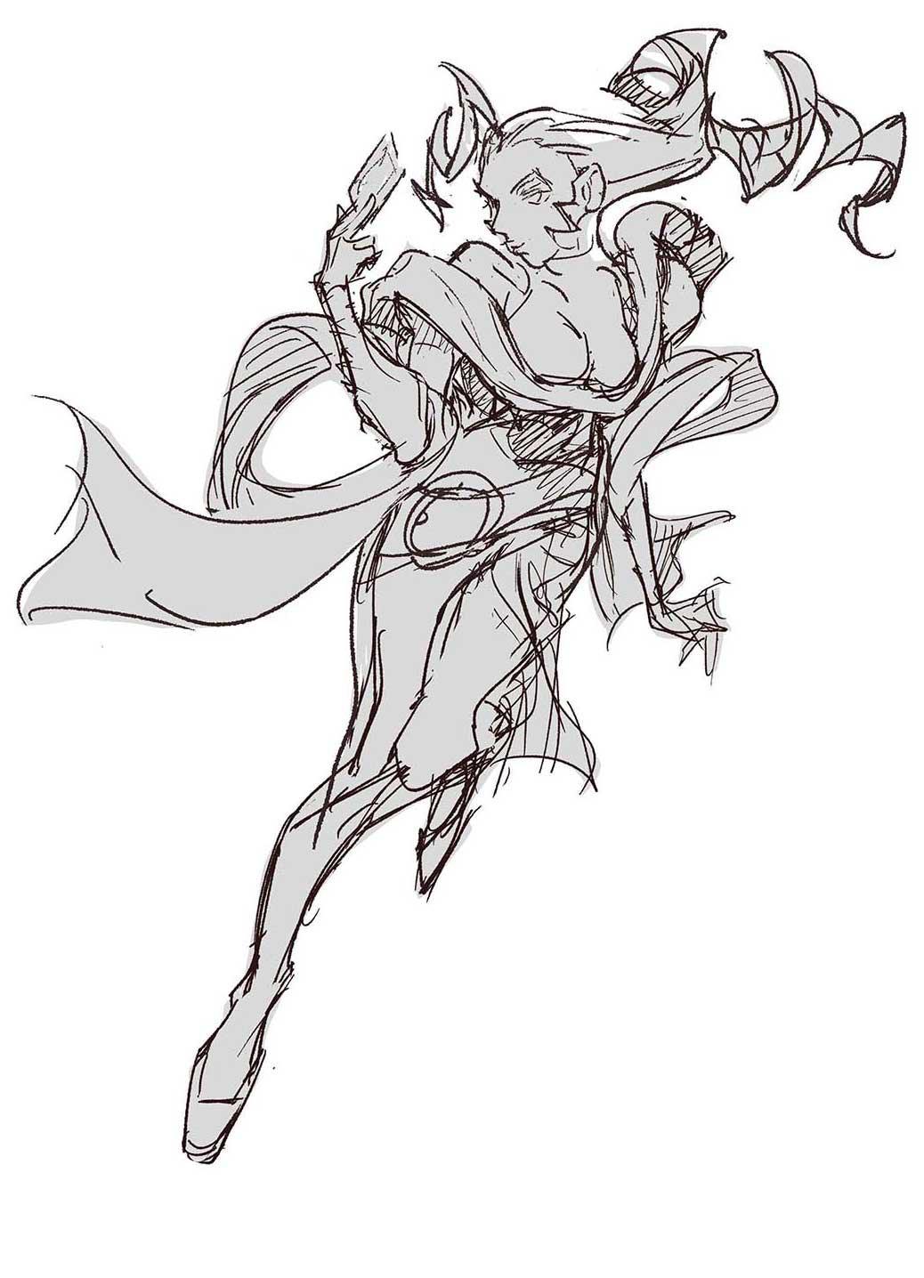New Character Rough Sketches 4 out of 8 image gallery