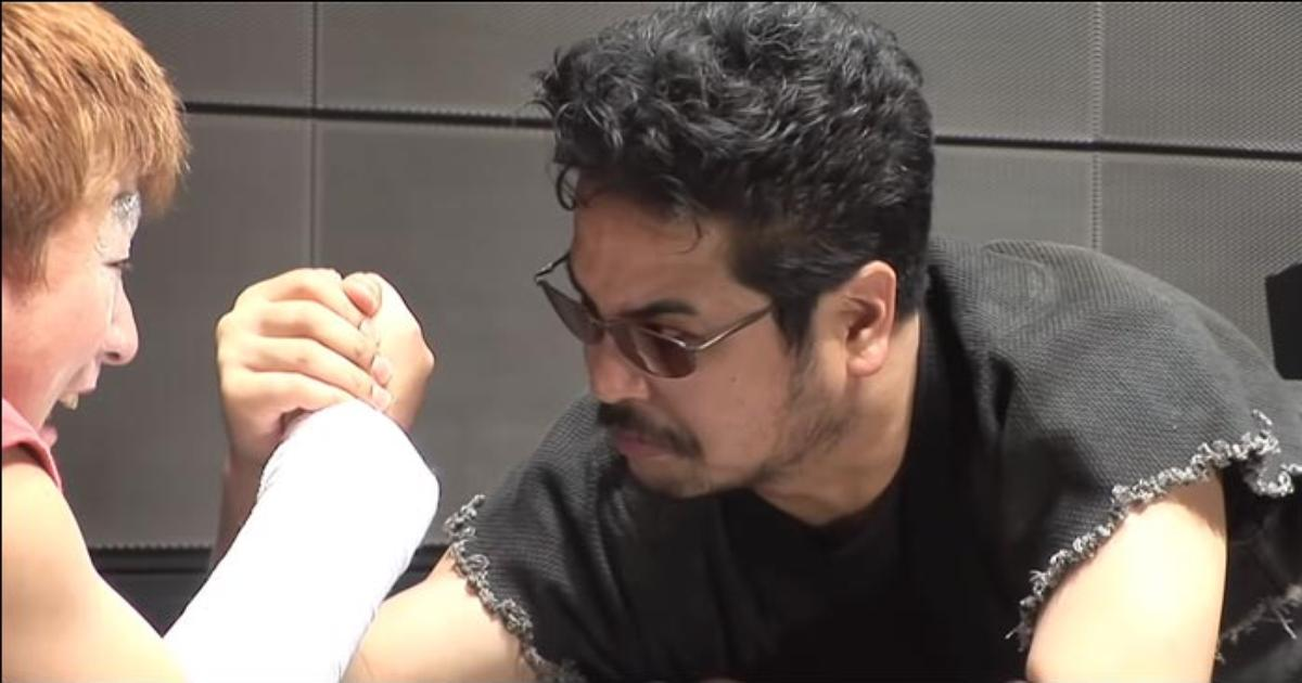 Harada was told to wear sunglasses for four years by Capcom because he was supposed to be the 'bad guy' for Street Fighter X Tekken promotions - Event