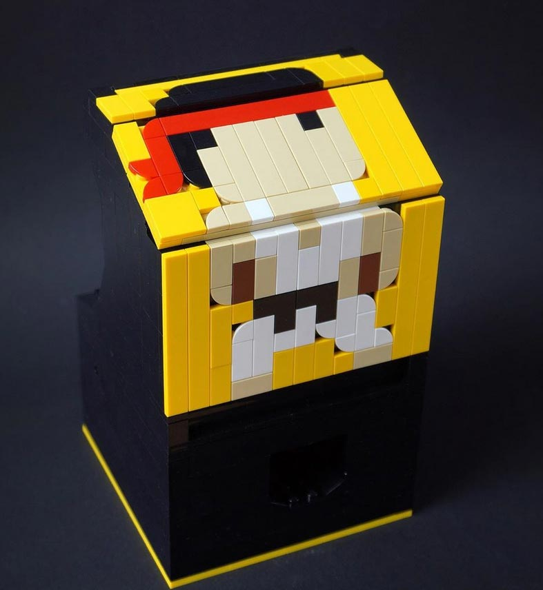 Custom Lego Street Fighter arcade 2 out of 4 image gallery