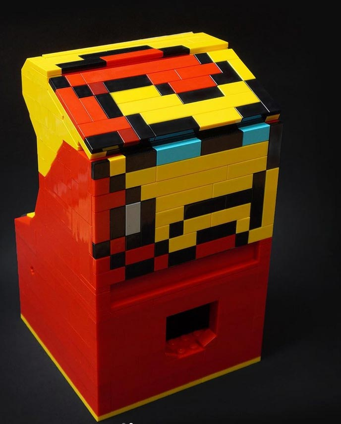 Custom Lego Street Fighter arcade 4 out of 4 image gallery