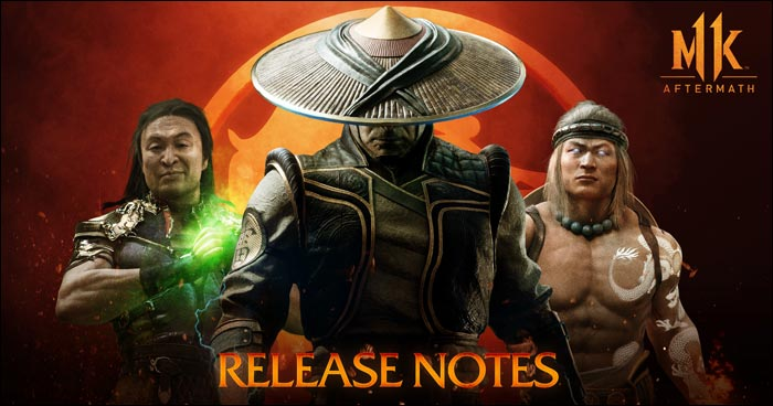 Mortal Kombat 11 Aftermath Patch Notes Released For August 6 Update