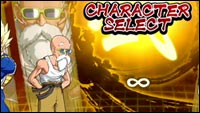 Dragon Ball FighterZ character select screen with Master Roshi image #1
