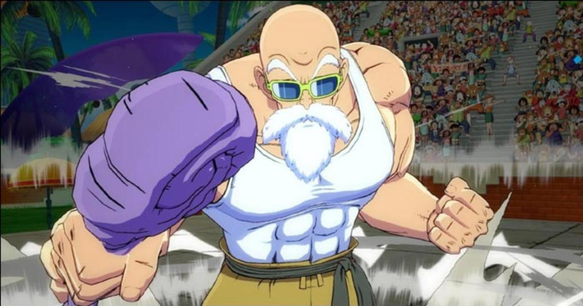 Master Roshi has aerial movement options to make up for the lack of a Super  Dash in Dragon Ball FighterZ — Here's a breakdown of the Turtle Hermit