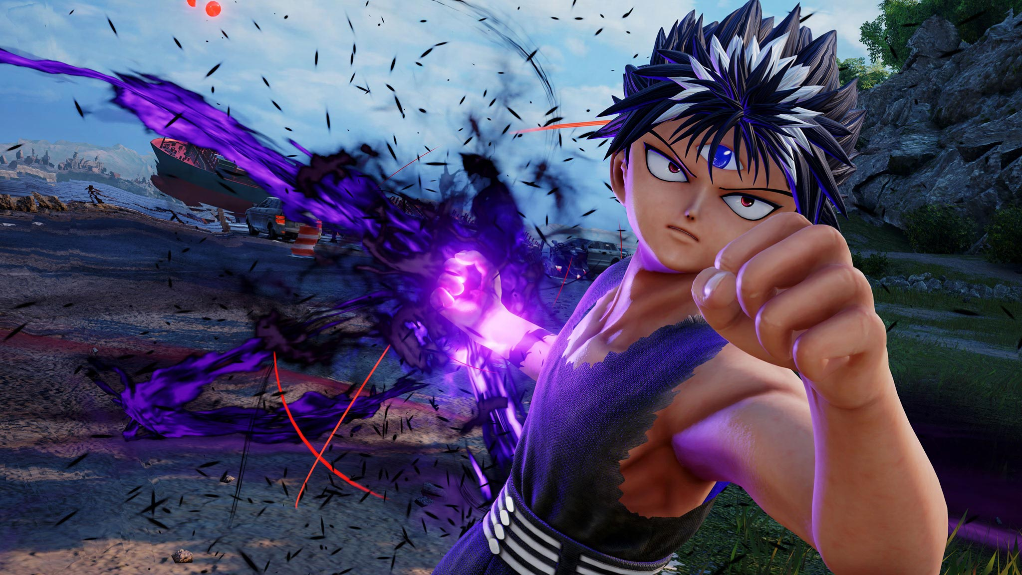 Jump Force Hiei screens 1 out of 4 image gallery