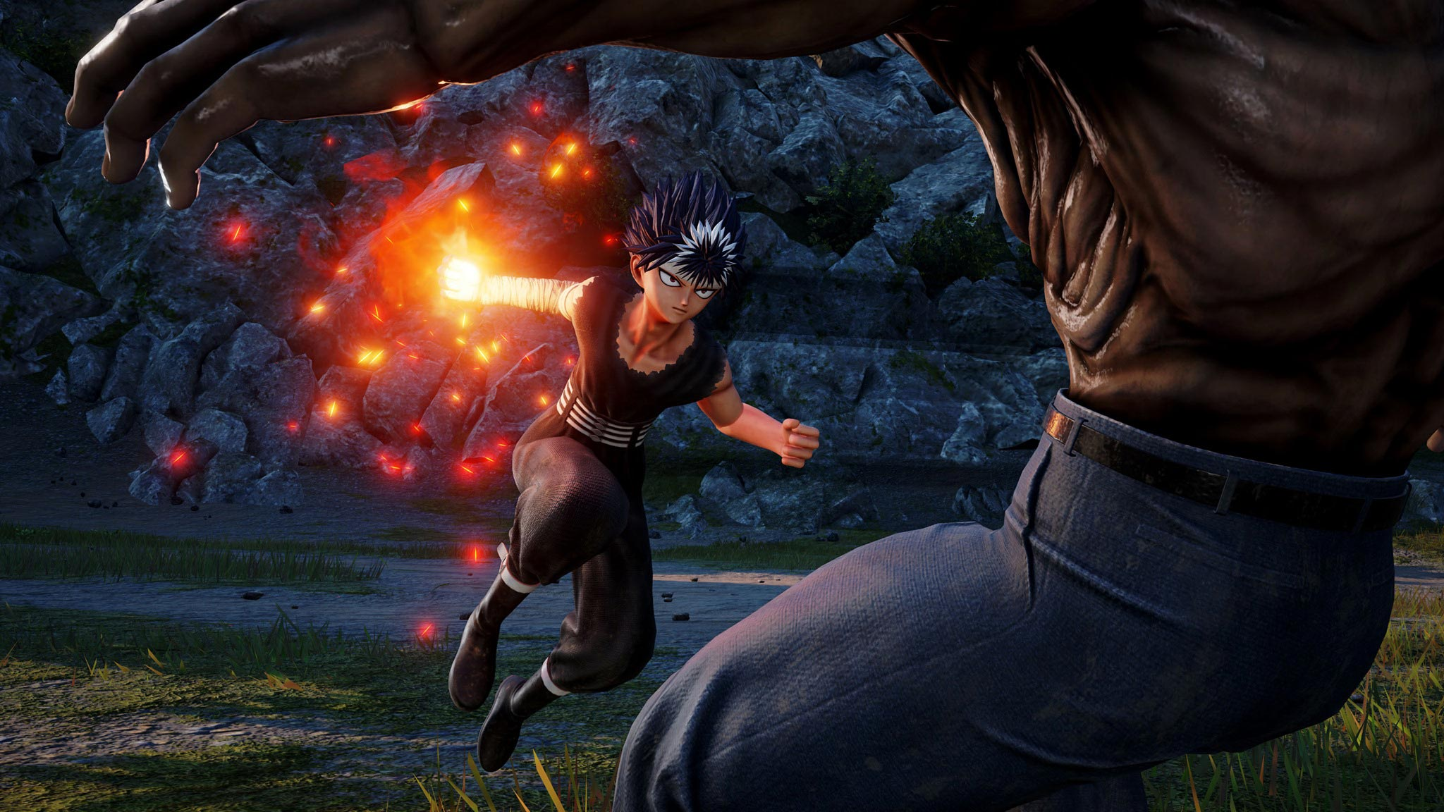 Jump Force Hiei screens 2 out of 4 image gallery