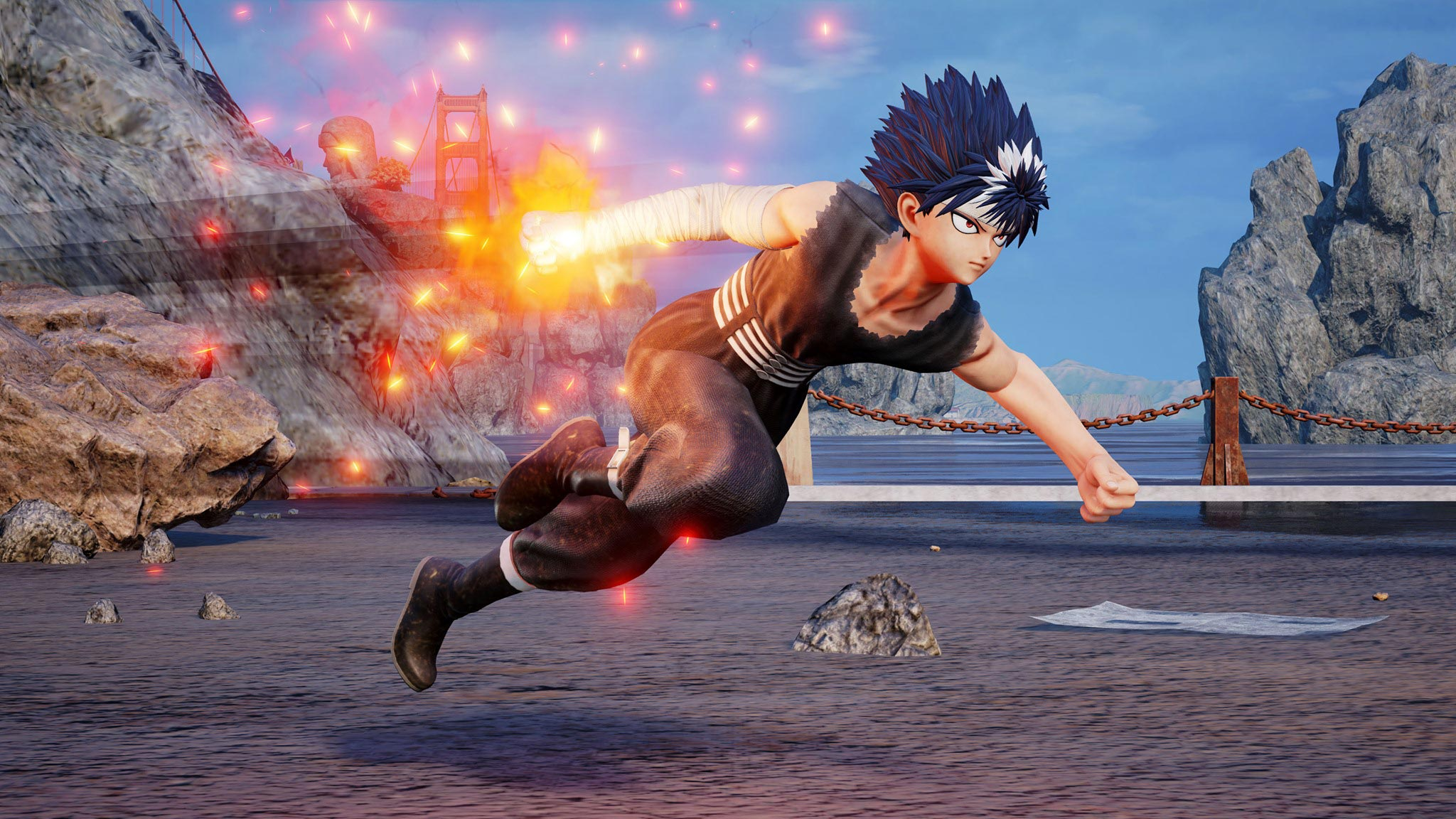 Jump Force Hiei screens 3 out of 4 image gallery