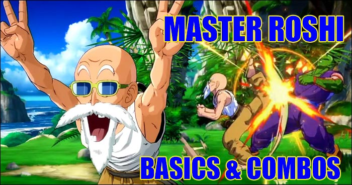 Learn Master Roshi In Dragon Ball Fighterz With These Quick Lessons In Combos And Basic Movements