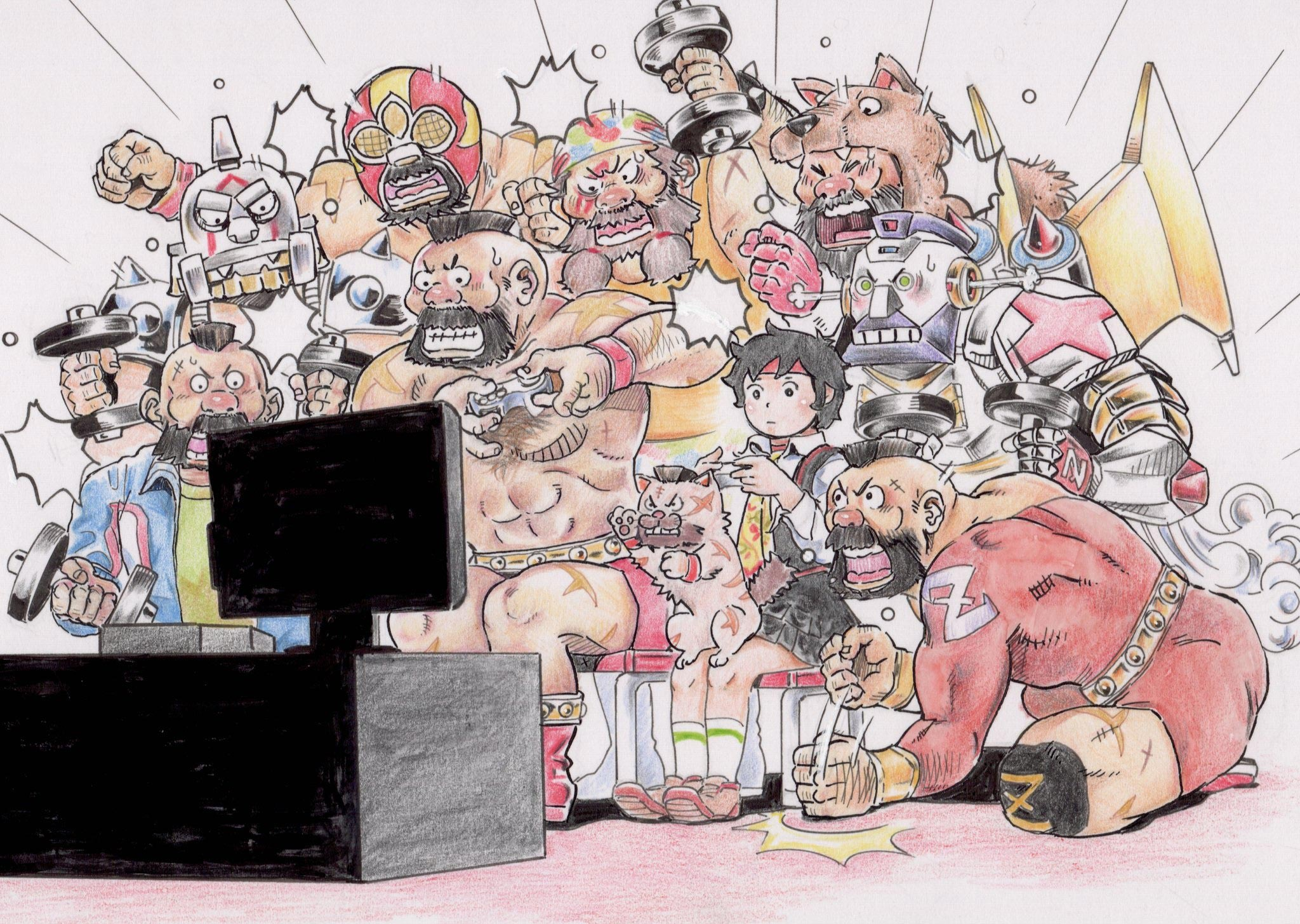 mame_708's Street Fighter 5 fan art 3 out of 8 image gallery