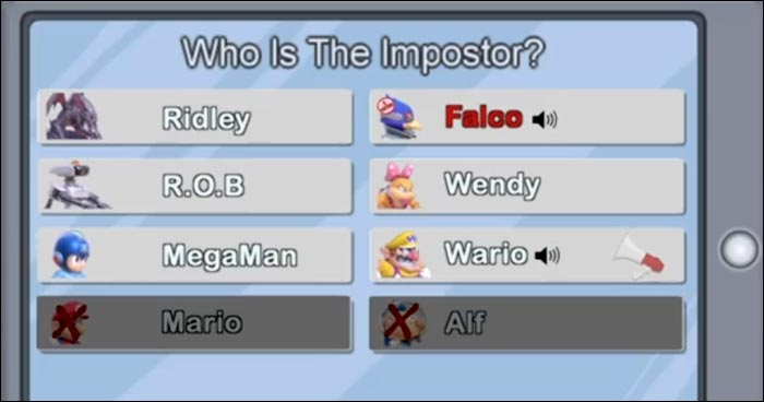 Super Smash Bros Ultimate Characters Hilariously Argue About Who The Imposter Is In This Among Us Crossover Skit