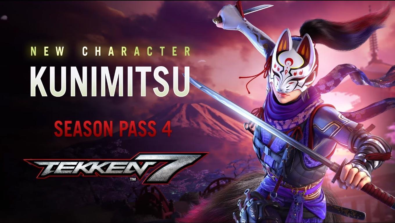 Tekken 7 ukázal Kunimitsu i roadmapu pro 4. sezónu