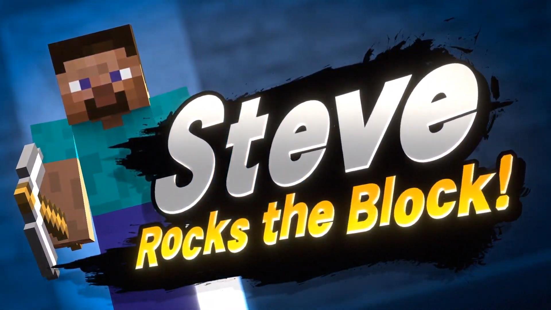 Steve z Minecraftu se přidá do Super Smash Bros. Ultimate