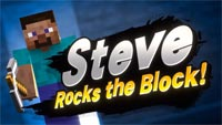 Steve from Minecraft in Super Smash Bros. Ultimate image #1